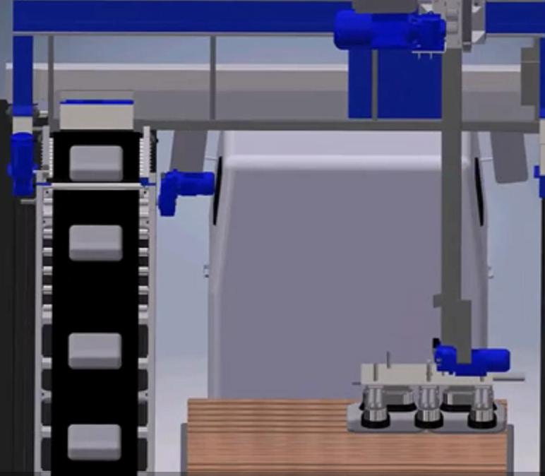 吸盘式装车机