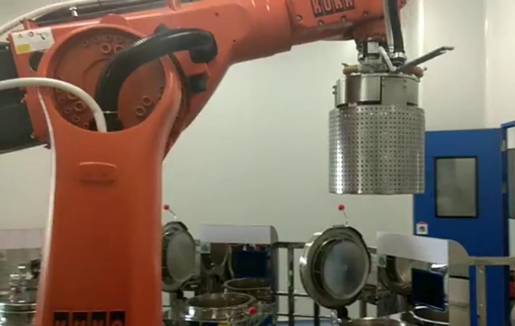 朗科机器人开窗操作
